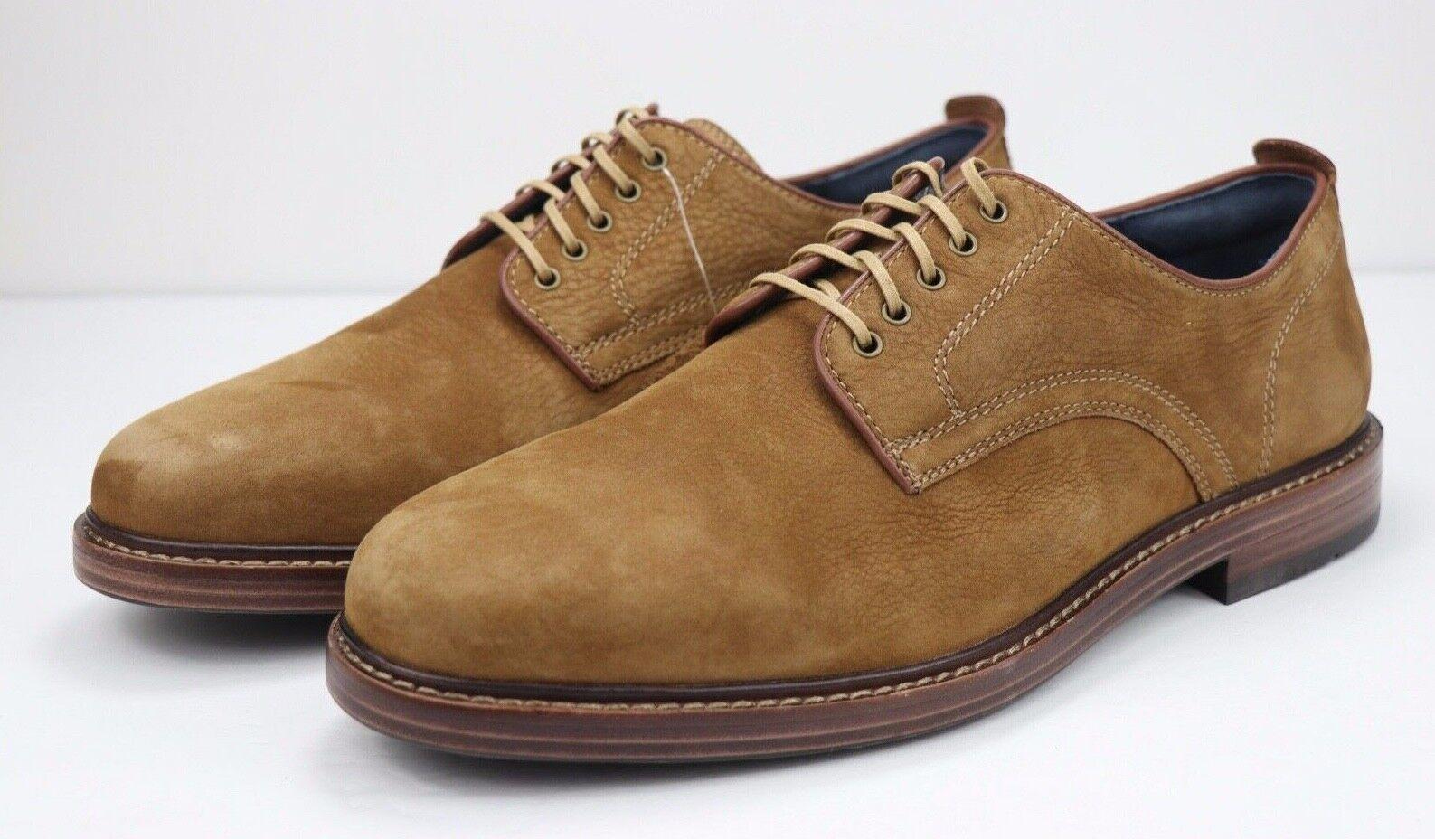 Cole Haan Tyler Plain Toe En Daim Marron Bois   OXFORD chaussure homme Taille 8.5