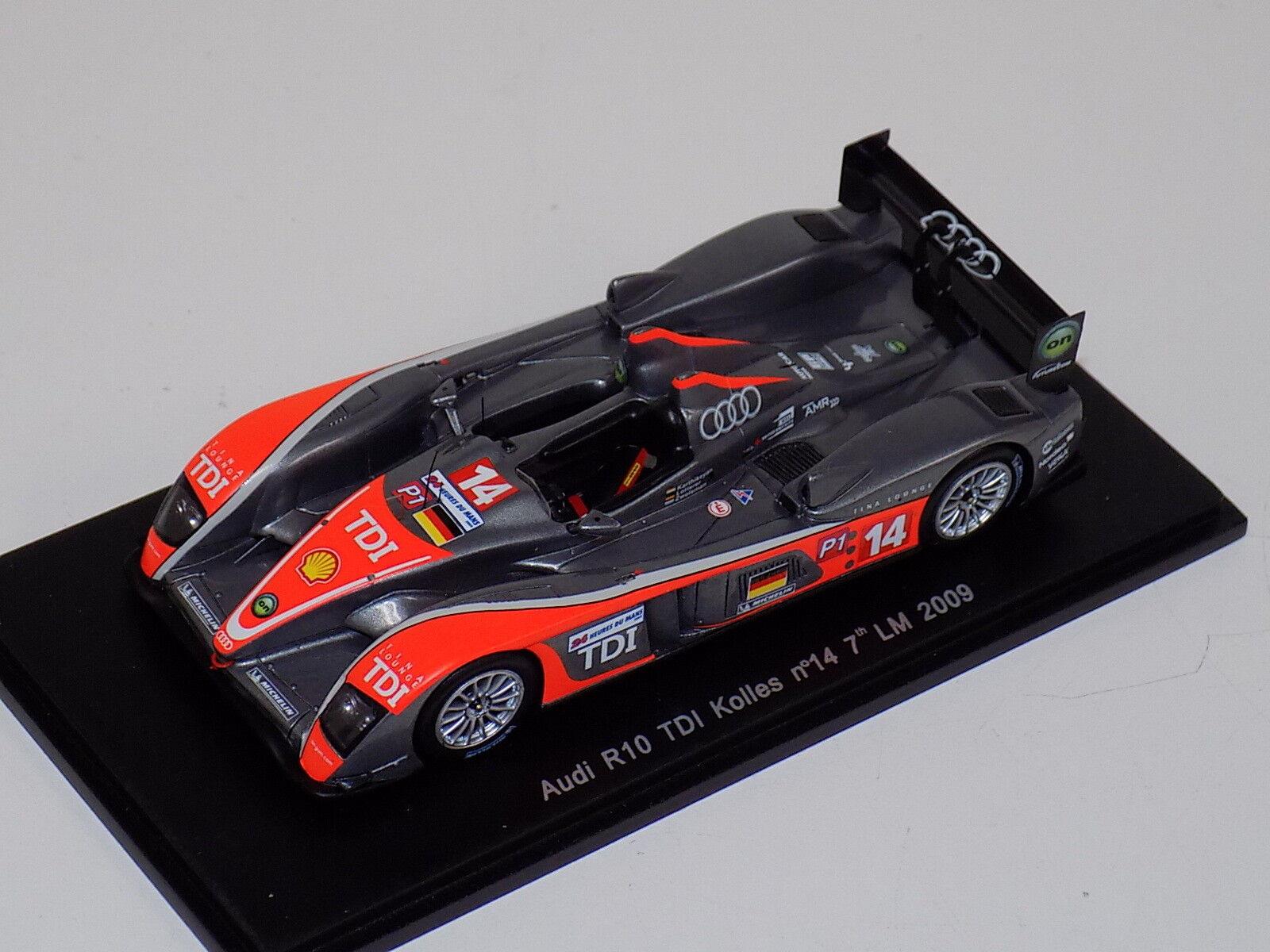 1 43 SPARKI R10 TDI voiture  14 7th en 2009 24 H du le mans S0690