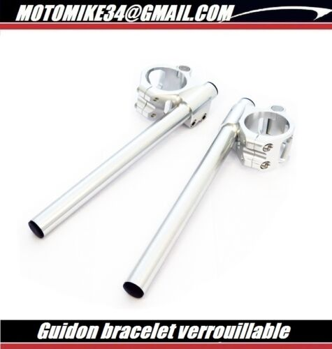 Guidon bracelet verrouillable 53 mm ducati sbk 748 848 996 998 1098 rsv 1000