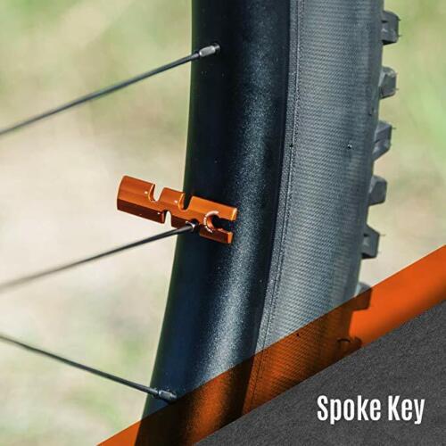 Granite Stash Multi-Tool Kit Compact Bike Tools Stored Inside Steerer