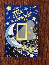 1980's Mac Tonight Light Switch Cover Moon Man McDonald's McD Restaurant Premium