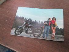 "Vintage Kawasaki Motorcycle Postcard Post Card KZ550 4.5x6.75"""