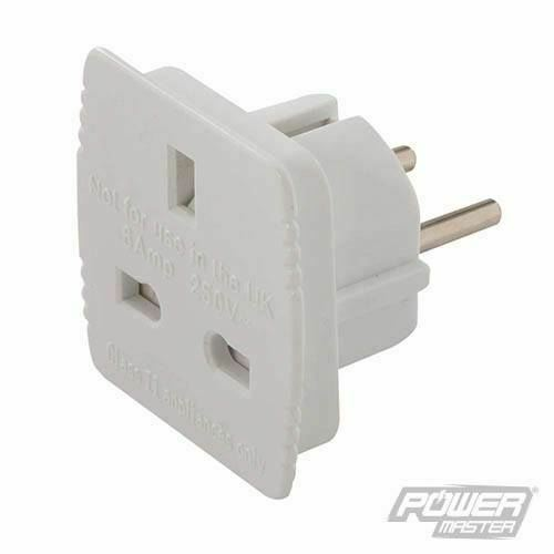 Power Master Shaver Adaptor 1A 240V