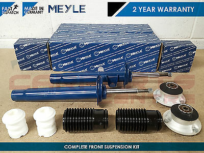 FOR BMW 3 SERIES E46 FRONT SHOCK ABSORBER SHOCKER TOP STRUT MOUNTS DUST COVERS