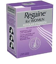Regaine Minoxidil 2% 60 Ml - Regular Strength & Hair Loss Treatment for Women