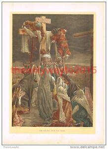 Descent-from-the-Cross-J-J-Tissot-Book-Illustration-Print-c1897