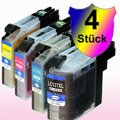 4 D/&C Druckpatronen für deinen Brother Drucker neu