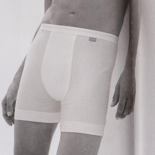 Schiesser Hommes Essentials 5 Doppelripp long shorts slip 5 Essentials 6 7 8 9 blanc nouveau 41337d