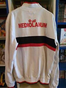 JACKET ALLENAMENTO MILAN MEDIOLANUM ADIDAS RIPRODUZIONE LIMITATA ANNI '80 - Italia - JACKET ALLENAMENTO MILAN MEDIOLANUM ADIDAS RIPRODUZIONE LIMITATA ANNI '80 - Italia