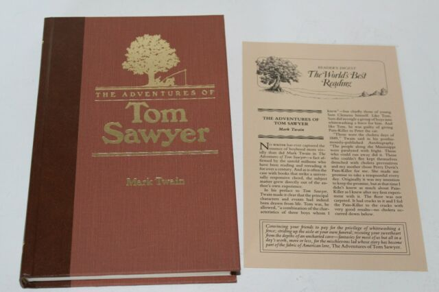 The Adventures of Tom Sawyer by Mark Twain (Hardcover 1990, Readers Digest) NEW