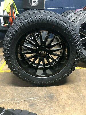 Cali Off-Road 9110 Summit 20x10 6x135-25mm Brushed Wheel Rim 20 Inch