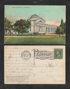 1910-NEW-NATIONAL-MUSEUM-WASHINGTON-DC-POSTCARD