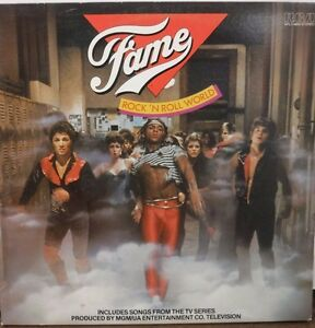 Fame Rock N Roll World 33RPM AFL1-4842 songs from TV Series  112616LLE