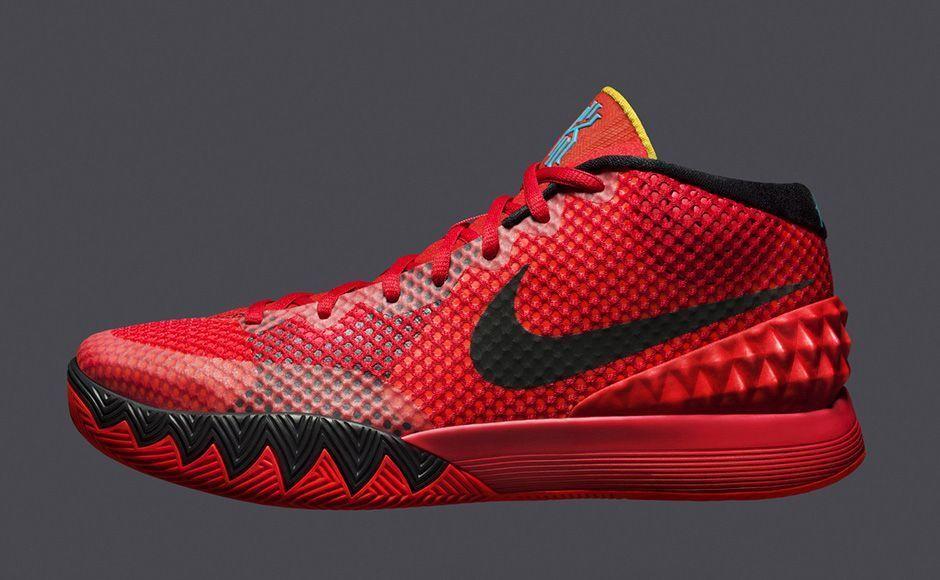 Nike kyrie 1 trügen rote größe 10,5.705277-606 jordan bhm all - star - traum