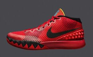 free shipping 046b2 78fb0 Image is loading Nike-Kyrie-1-Deceptive-Red-Size-10-5-