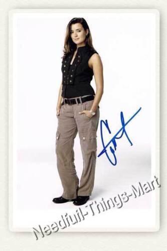 Cote de Pablo alias Ziva David aus Navy CIS NCIS Autogrammfotokarte Auswahl