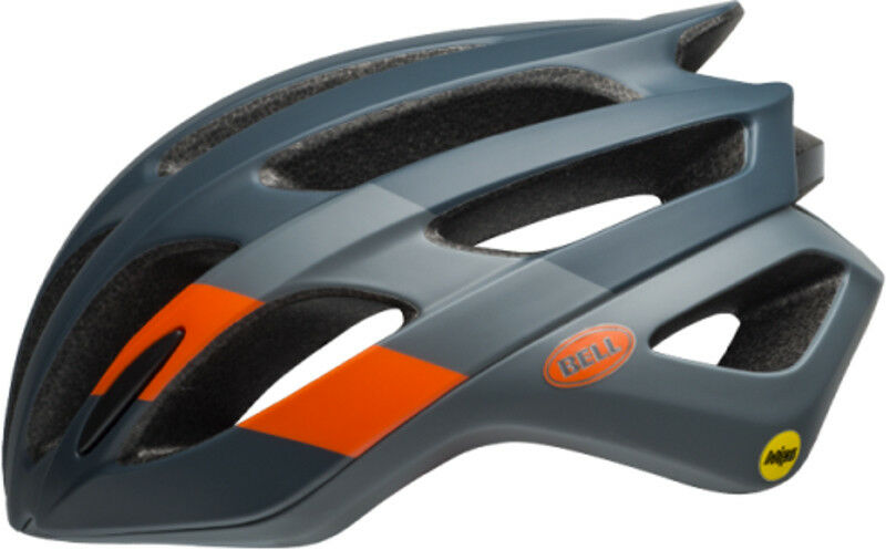 Bell Falcon MIPS Bike Helmet Matte Gloss Slate Coal orange