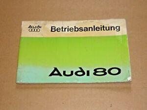 AUDI-80-1976-Auto-Union-NSU-Betriebsanleitung-Bedienungsanleitung-Handbuch