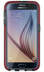 TECH21-T21-4451-Evo-Check-for-Galaxy-S6-Smokey-Red-Phones-gt-Mobile-Phone-Ca