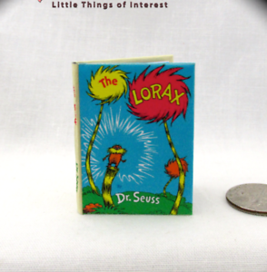 Dragon Book Book Of Dragons dollhouse miniature book w//illustrated pages