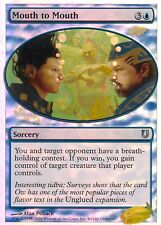 Mouth to Mouth FOIL | EX | Unhinged | Magic MTG