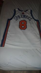 the best attitude bca6a 4382b Details about new york knicks mens latrell sprellwell, XL white jersey, used