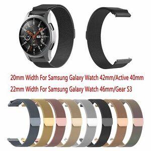 Correa Banda Magnética de Acero inoxidable Para Samsung Galaxy Reloj 42mm/46mm