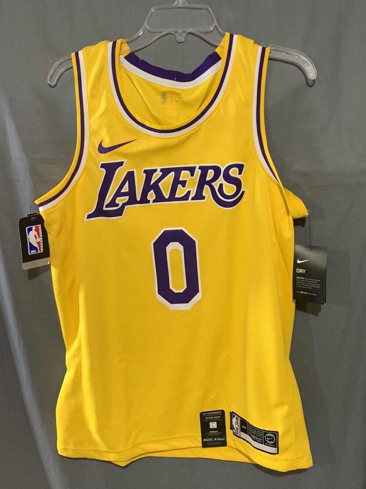 Nike Kyle Kuzma #0 La Lakers Swingman Icon Edition Jersey Aa7099 ...