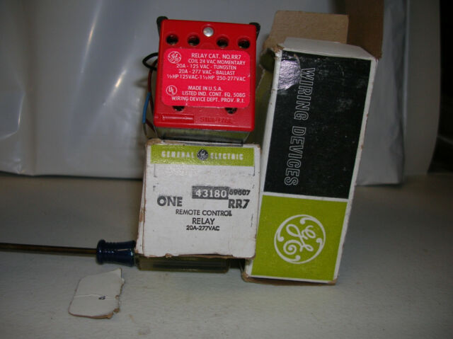 Ge Lighting Control Relay Rr7
