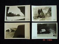 JP Bravo PORTUGAL photo Postcard Lot PRAIA DA ROCHA Piramides Gruta Vau Castelos