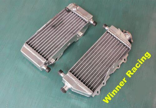 Fit Kawasaki KX 125 KX125M 2003-2005; KX 250 KX250M 03-04 aluminum radiator