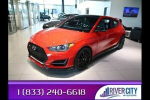 2021 Hyundai Veloster N LINE TURBO 6SPD N SPORT CLOTH SEATS/BLUE STITC,HEATED FRONT SEATS,8.0 TOUCH SCREEN,ANDROID AUTO/A
