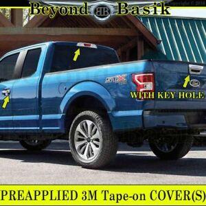 2015 2016 2017 FORD F150 Chrome Door Handle Covers NoSmrtKey+Tailgate+BrakeLight