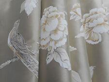 Zoffany Curtain Fabric 'Woodville Silk' 3.2 METRES (320cm) Tussah - 100% Silk