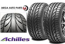 """2 X New Achilles """"ATR Sport"""" 245/45ZR17 99WXL High Performance Tires 245/45/17"""