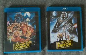 Ewoks : La Bataille pour Endor + la caravane du courage Blu-Ray Star Wars