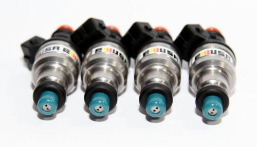 4 550CC 1set Fuel Injector for 92-96 Honda B16 B18 B20 D16 D18 F22 H22 H22A VTEC