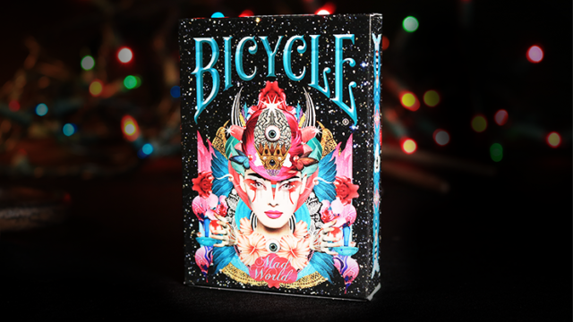 CARTE DA GIOCO BICYCLE MAD WORLD,poker size