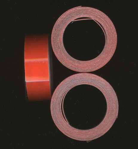 3x DYMO 9mm x 1m PRÄGEBAND 3d ORANGE glanz Orange glossy etiketten label ...
