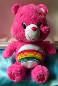 """Bright Pink """"Care Bear""""---Large Size"""