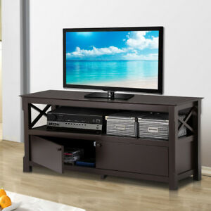 Image Is Loading Tv Stand Entertainment Center Furniture Console Media Storage