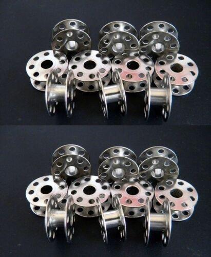 20 Spulen aus Metall 21 x 9 mm N 270010W. für Industrie Nähmaschine