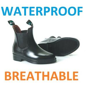 Childs-WATERPROOF-JODHPUR-BOOTS-ALL-SIZES-BLACK-OR-BROWN