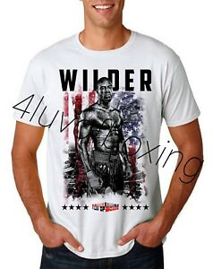 29448aa3 Deontay Wilder Boxing WH Tee new 4LUVofBOXING Bronze Bomber HW Champ ...