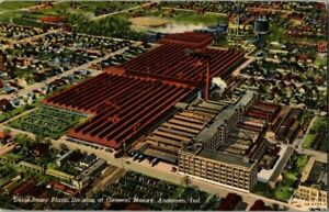 1940-039-S-DELCO-REMY-PLANT-ANDERSON-IND-POSTCARD-UPA4