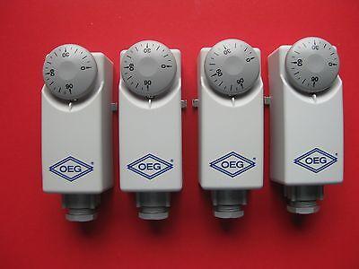 A 20-90°C neu Thermostat Kessel Aussenskala Anlege 5 Anlegethermostat BRC