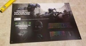 CALL OF DUTY MODERN Warfare RAZR Gamestop Exclusive RARE Promo Poster