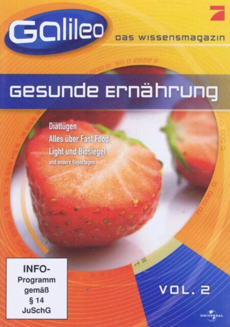 DVD - Galileo das Wissensmagazin - Vol. 2 - Gesunde Ernährung