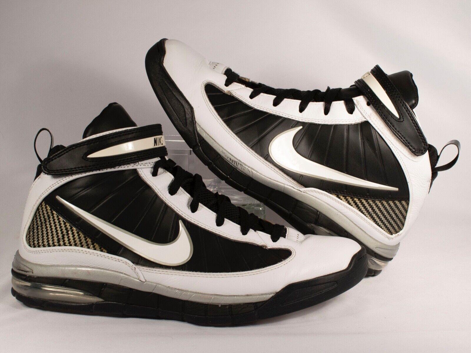 Nike Air Max Rise US Men's size 11 White Black 375659-100 year 2009