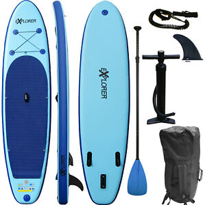 SUP-Board-EXPLORER-Stand-Up-Paddle-Surfboard-aufblasbar-Paddel-ISUP-ALF2-320-cm